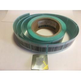 لیبل دزدگیر 5*5 (RF Label) - لیبل 5*5 پشت آبی