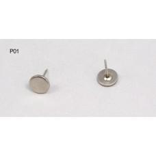سوزن تگ - سوزن گنبدی - سوزن ته پلاستیکی - سوزن تخت (Pin P01)